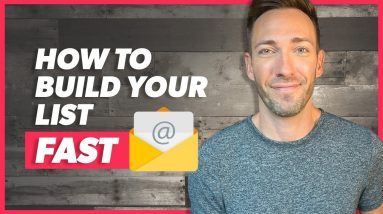 Build an Email List Fast — in 2019 & Beyond
